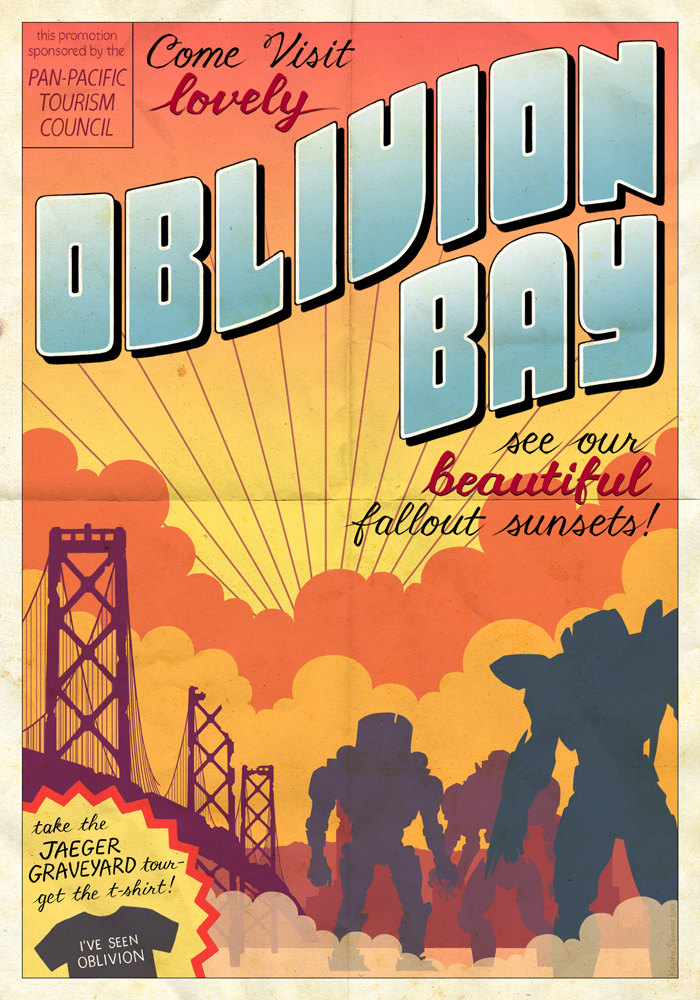 Pacific Rim: Oblivion Bay Travel Poster