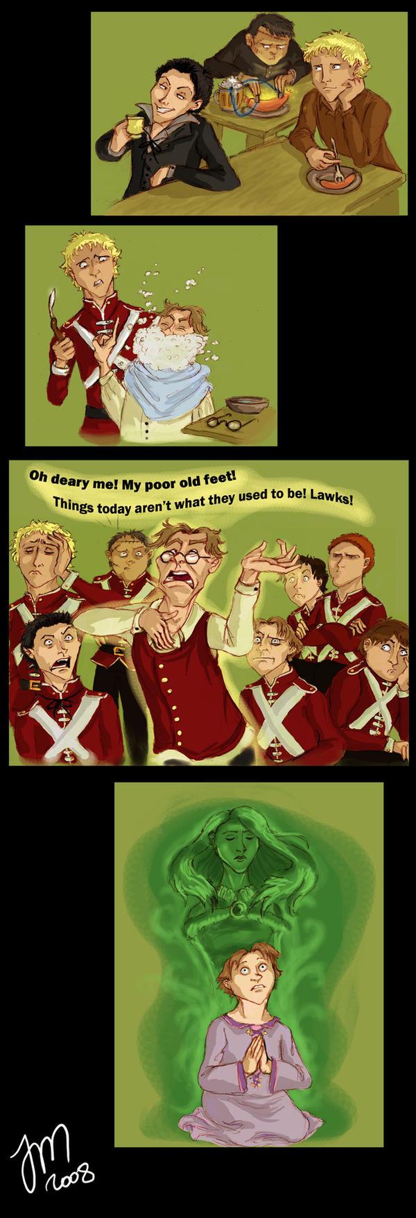 Pratchett - Monstrous Regiment by yenefer