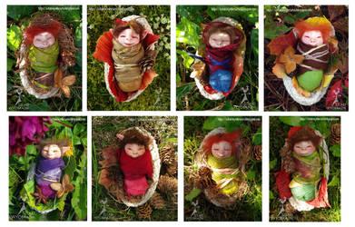 Sleeping faeries
