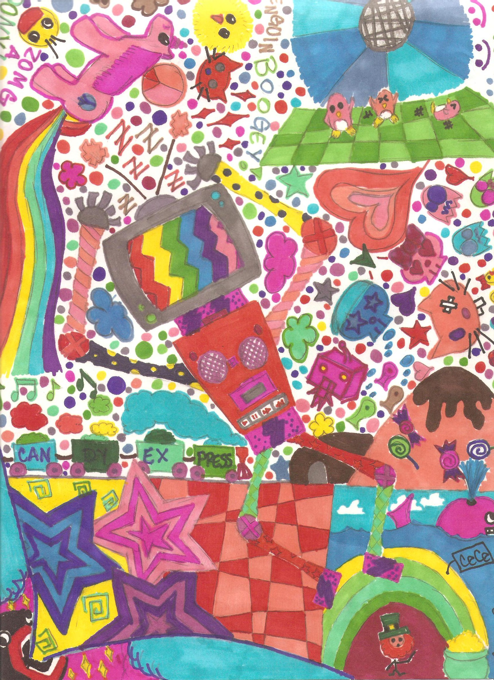 Sharpie Love :D by psycho-gummybearz