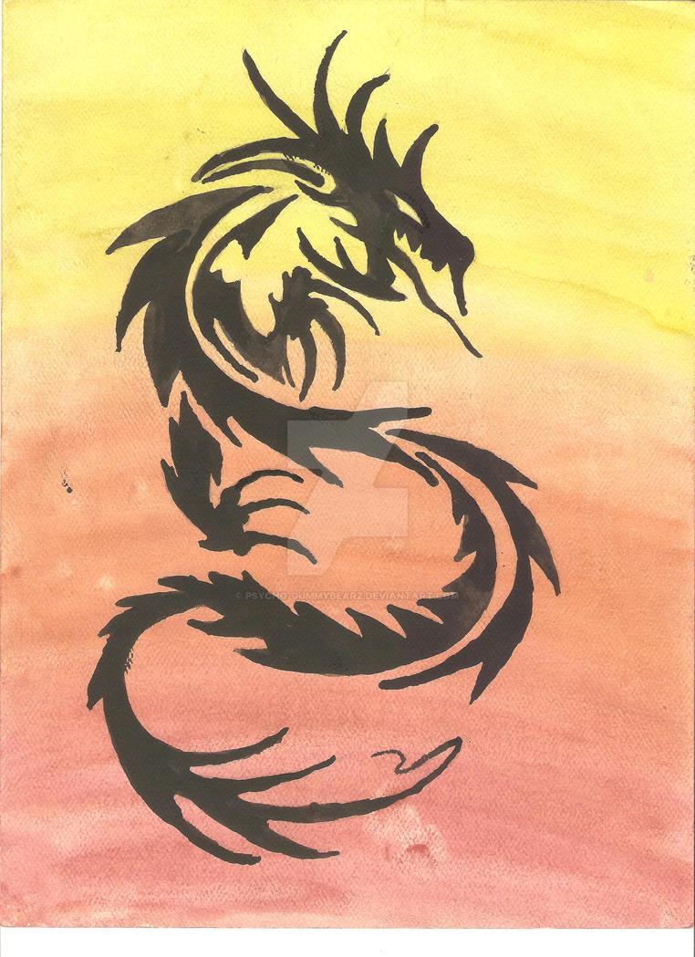 Watercolor art 1 by psycho-gummybearz