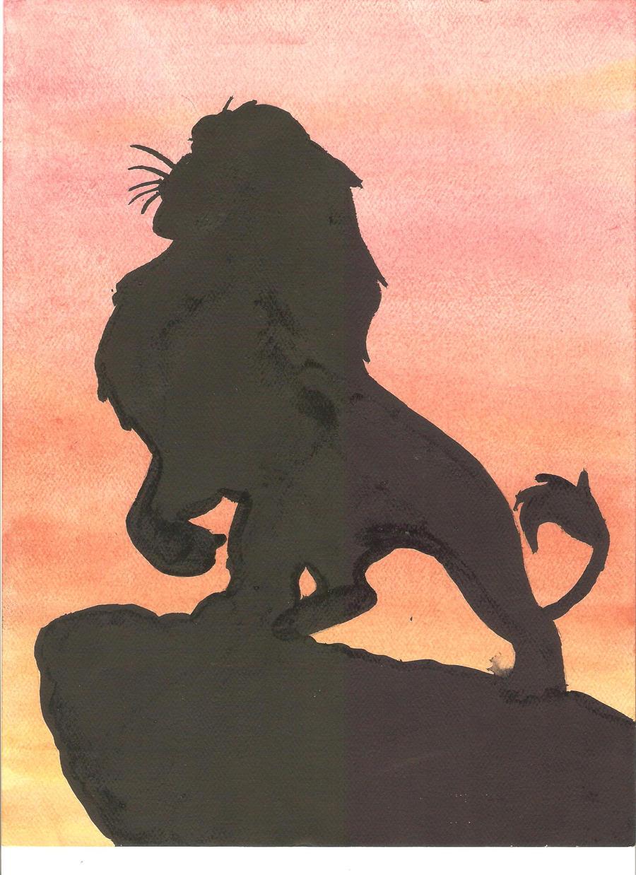 Simba or Mufasa? by psycho-gummybearz
