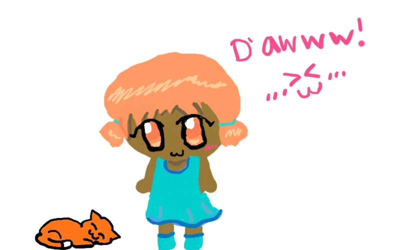 first quick tablet drawing :D by psycho-gummybearz