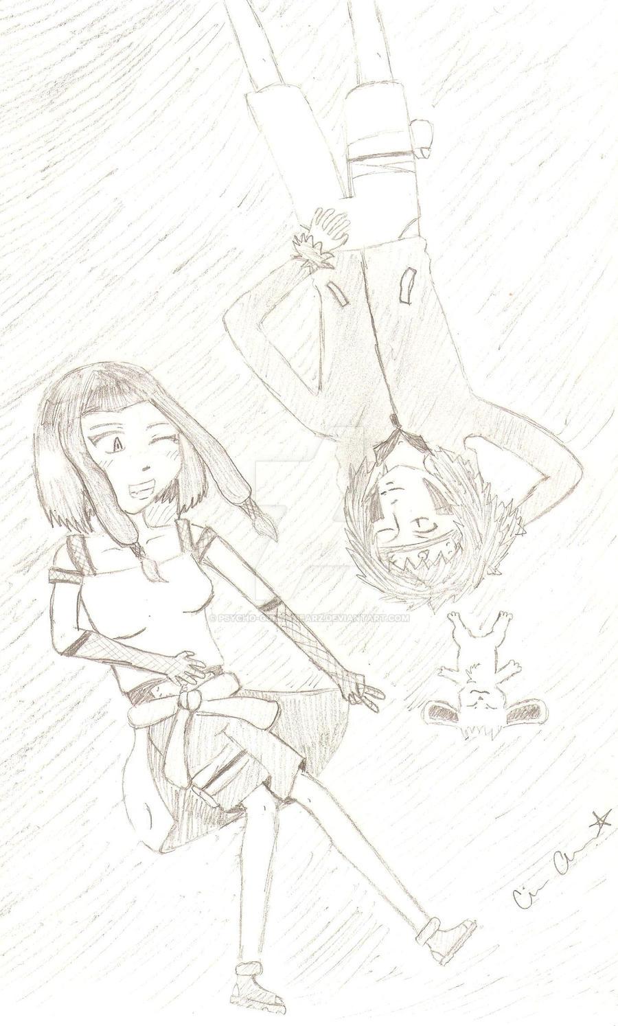 Naruto OC :3 by psycho-gummybearz