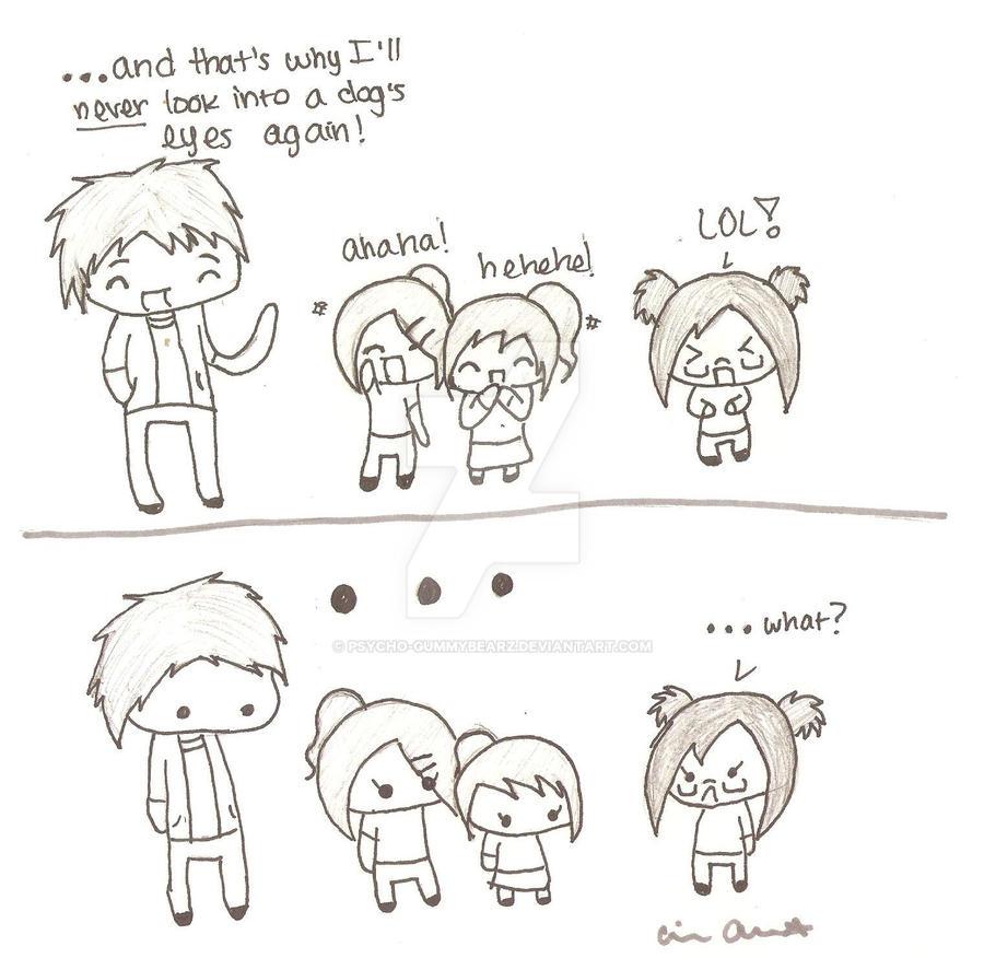 2 am comic doodle :D by psycho-gummybearz