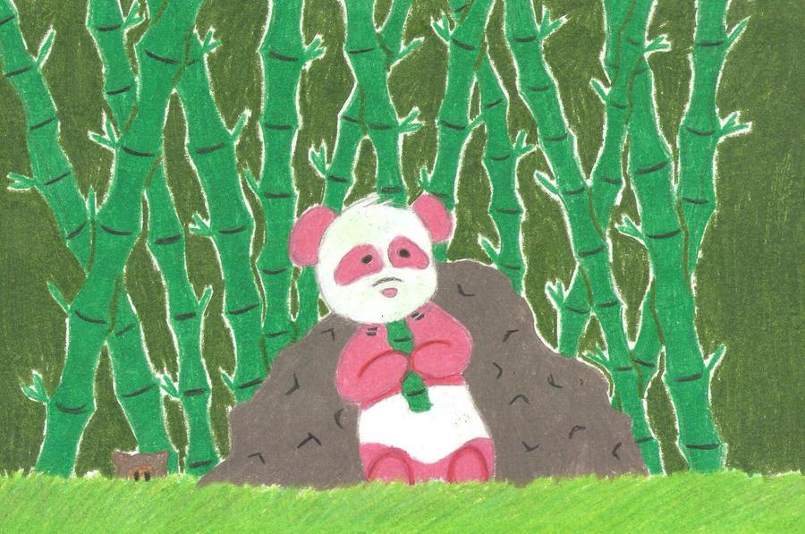 Panda request :3 by psycho-gummybearz