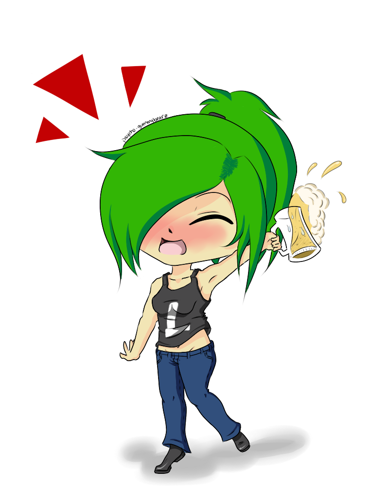 Happy Hour! by psycho-gummybearz