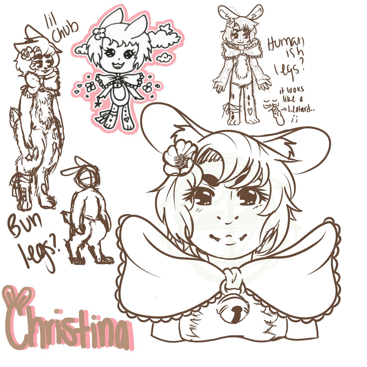 Christina by psycho-gummybearz