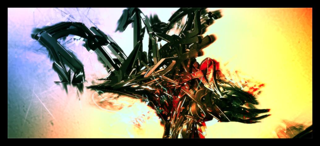 C4D Colour Explosion by e-Quinox