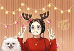Nayeon Kookeu christmas