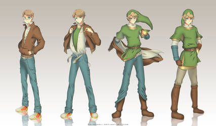 Commission: Link's transformation
