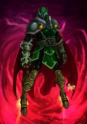 Dr Doom by silentgecko