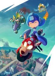 Mega Race Go by silentgecko