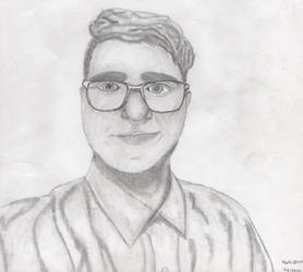 My Second Self Portrait Drawing