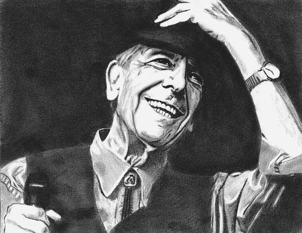 Leonard Cohen by ShinyMarine