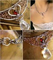 Twilight Wedding Necklace
