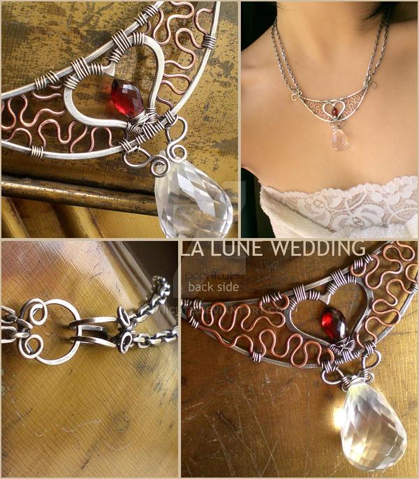 Twilight Wedding Necklace by popnicute