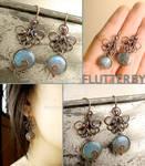 Flutter By Butterfly Earrings