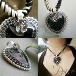 Heart of Stone Pendant by popnicute