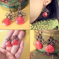 Pagoda Earrings by popnicute