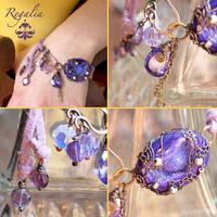 Regalia Purple Bracelet by popnicute
