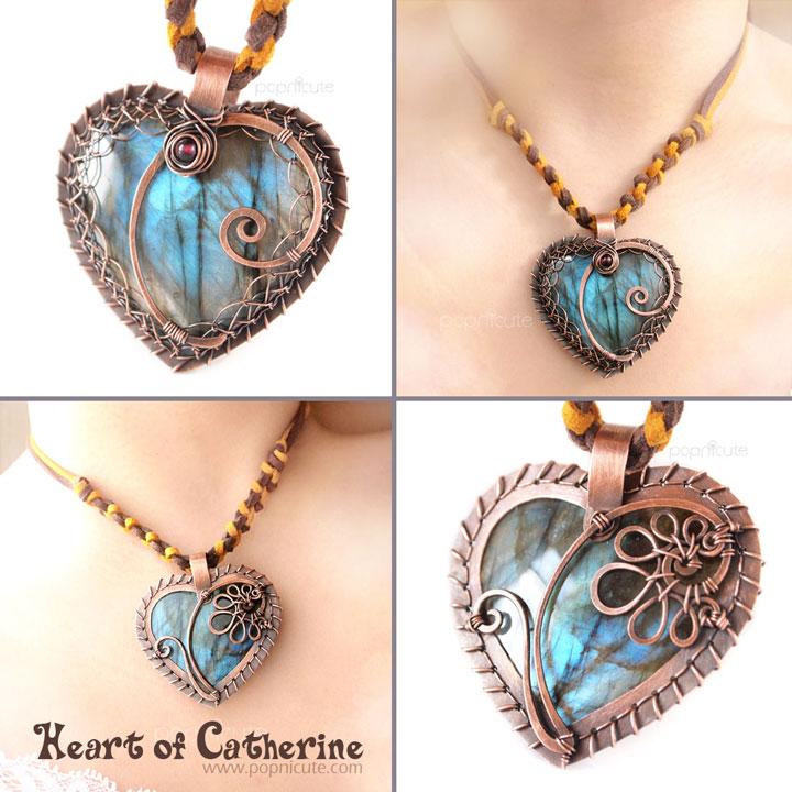 Heart of catherine labradorite pendant by popnicute on deviantart heart of catherine labradorite pendant by popnicute mozeypictures Choice Image