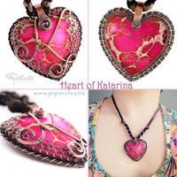 Heart of Katarina Pendant by popnicute