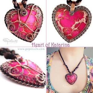 Heart of Katarina Pendant