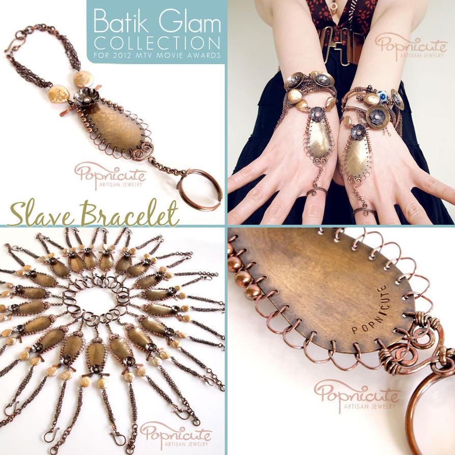Slave Bracelet - Batik Glam Collection by popnicute