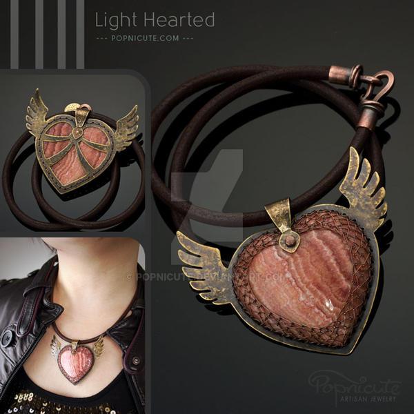 Winged heart iii pendant necklace by popnicute on deviantart winged heart iii pendant necklace by popnicute aloadofball Gallery