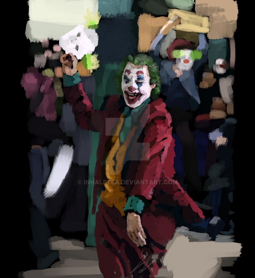 joker with mask