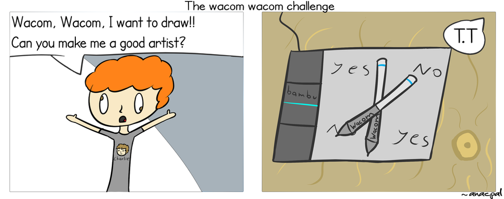 Wacom Wacom challenge by anacpal