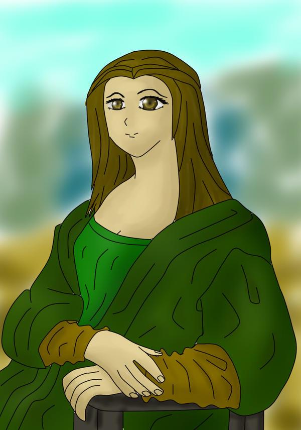 Mona by PanHaukatze