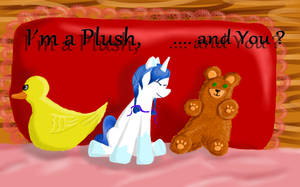 Im a Plush  and You ? by PanHaukatze