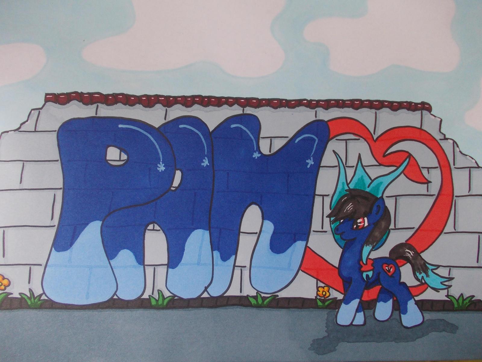 Pan Graffiti by PanHaukatze