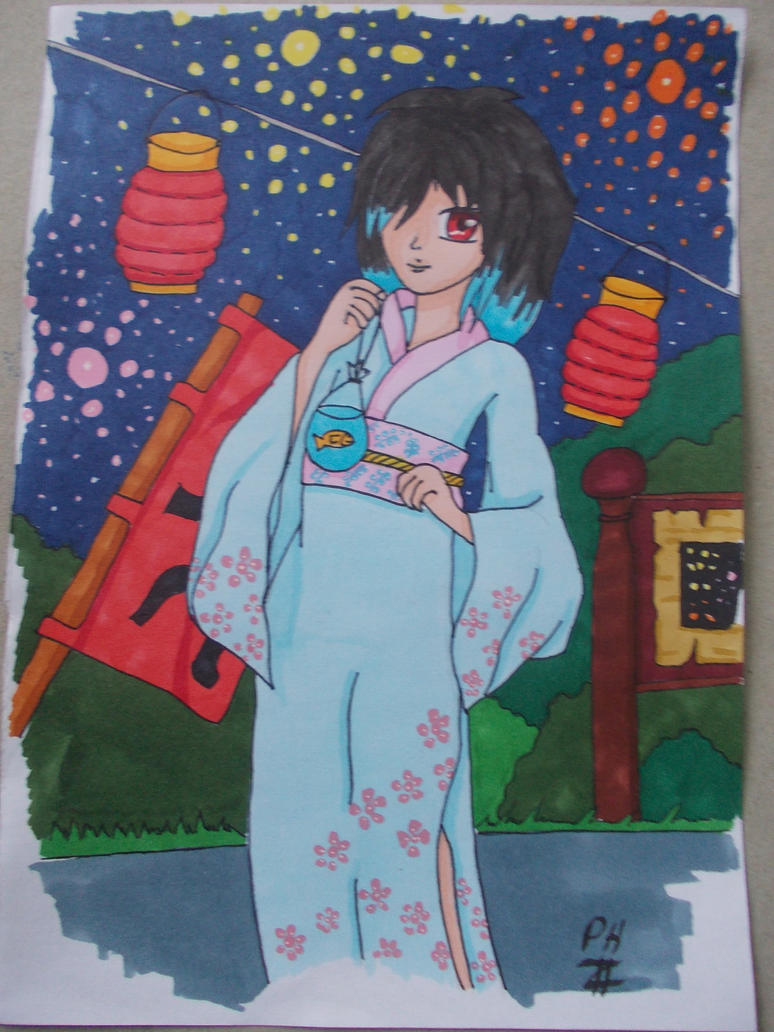 Pan im Kimono by PanHaukatze