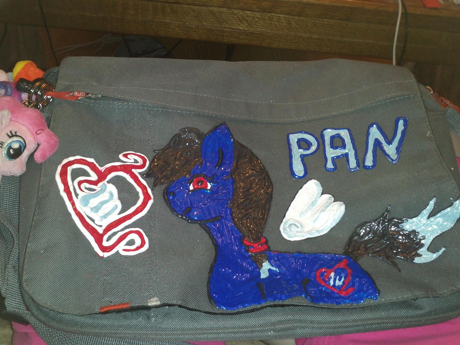 Meine Pony an Tasche by PanHaukatze