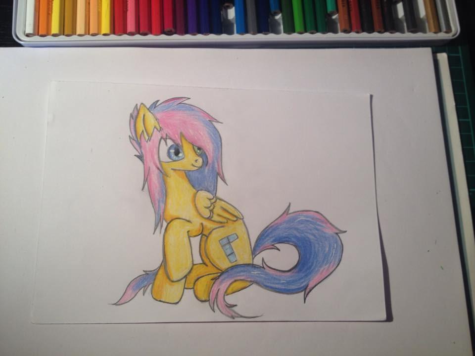 tetris pony by PanHaukatze