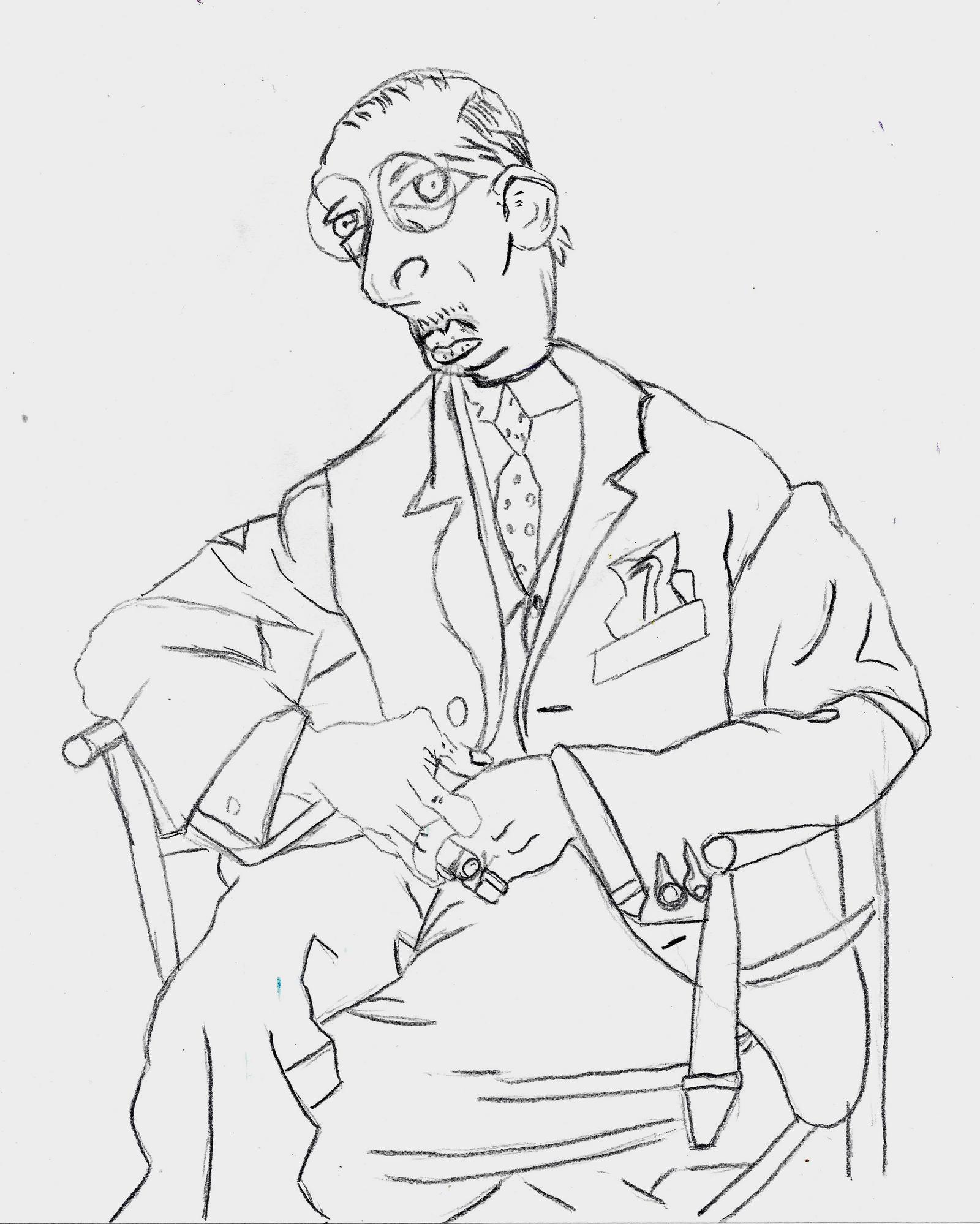 Picassos  Strawinsky by PanHaukatze