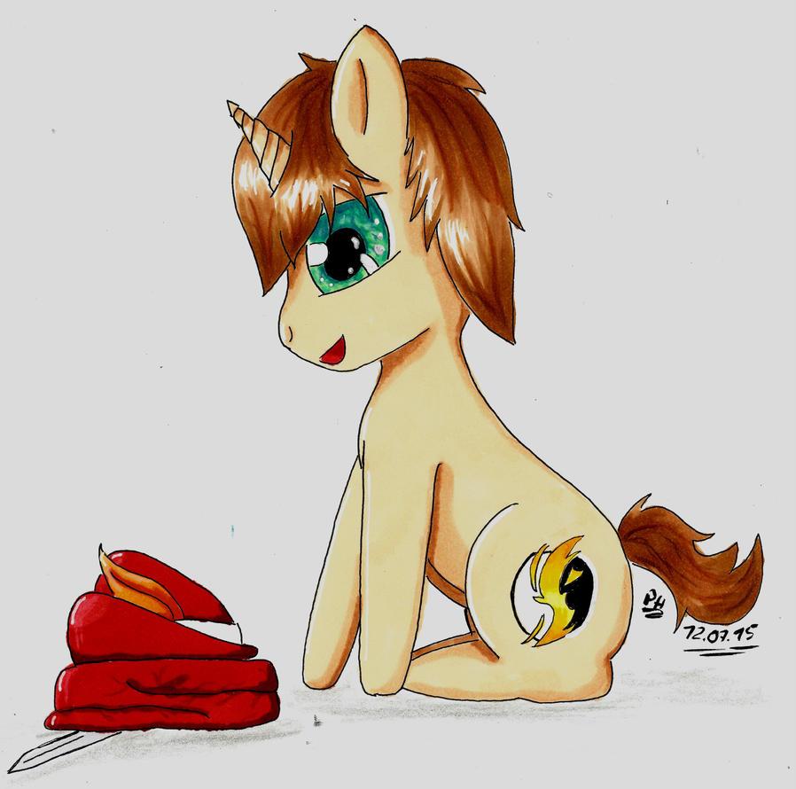 Mein erstes cibi Pony by PanHaukatze