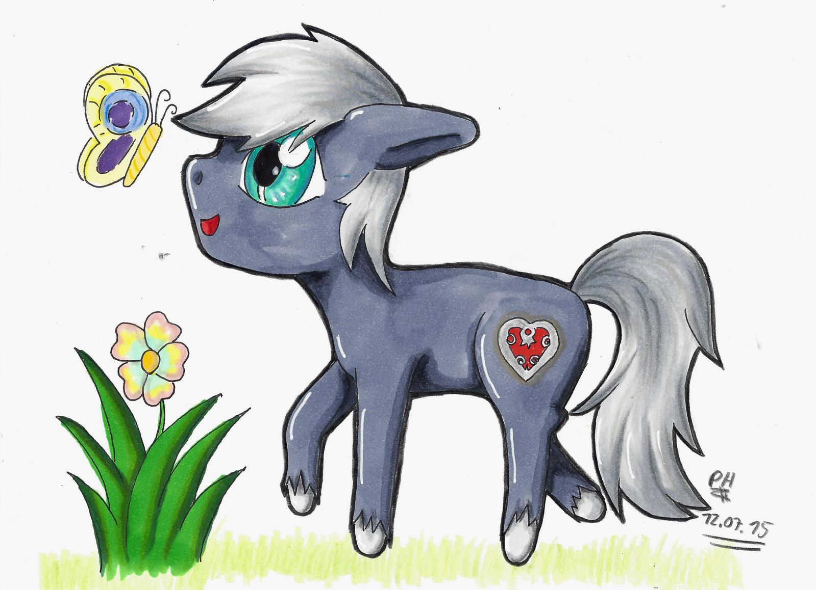 noch ein chibi pony by PanHaukatze