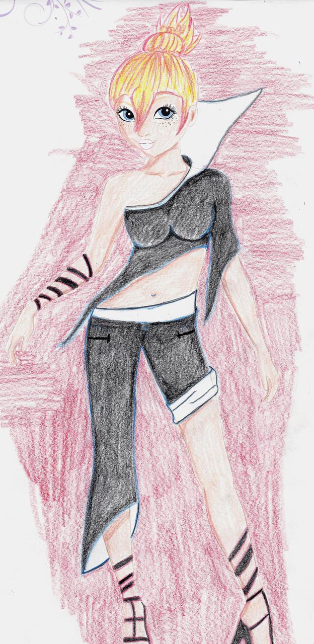 Hausaufgabe zum tehma Kleidung 2 by PanHaukatze
