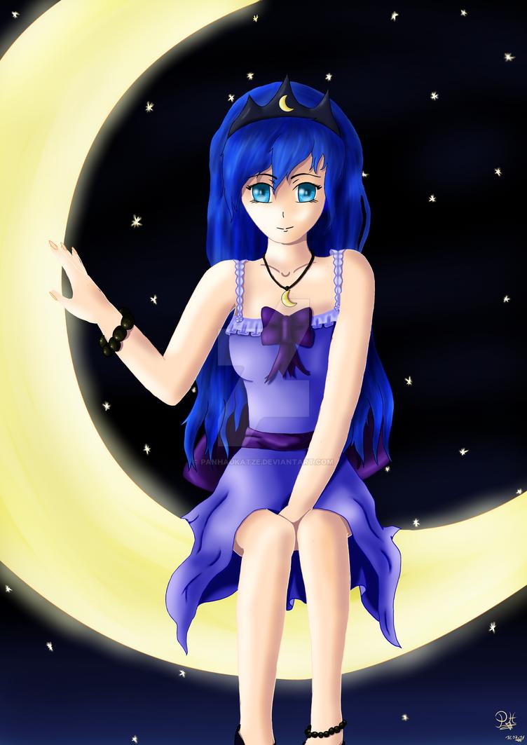 Luna Girl of Moon by PanHaukatze
