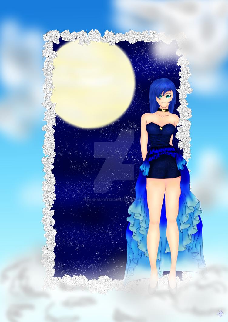 Himmlische Luna by PanHaukatze