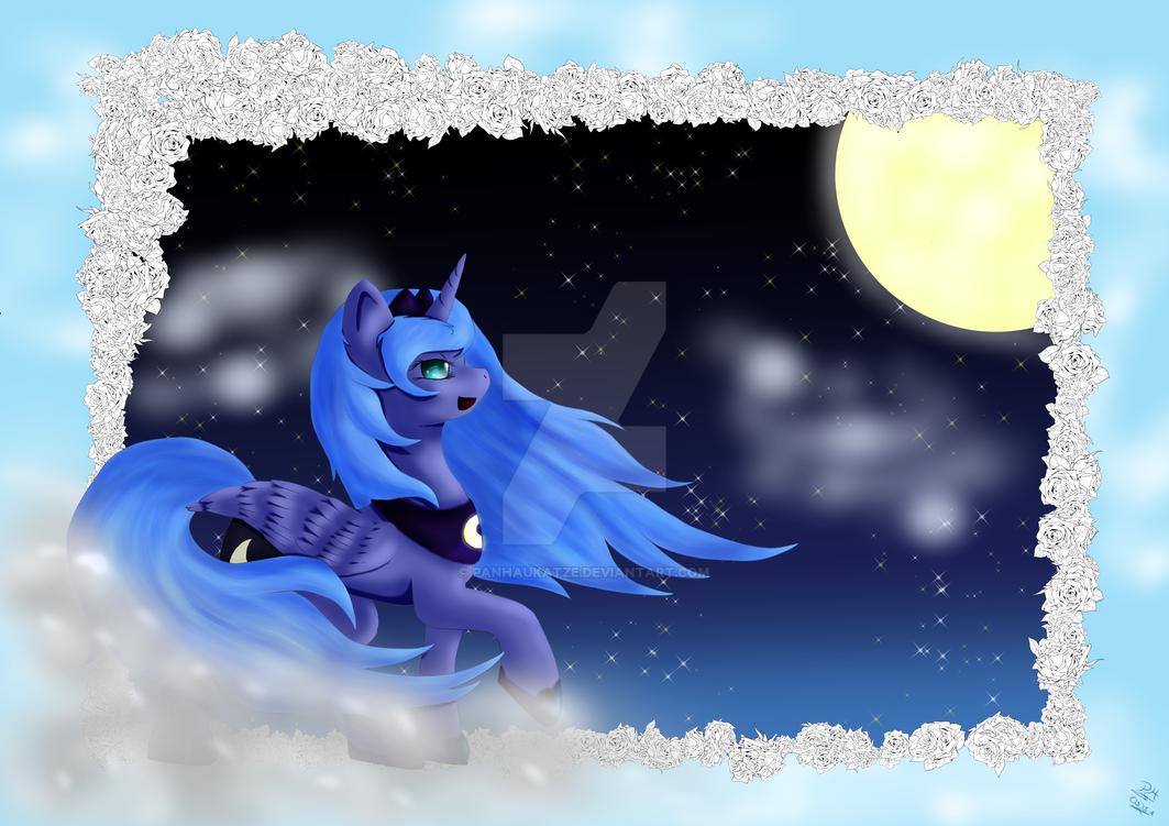 Himmlisches Luna Pony by PanHaukatze