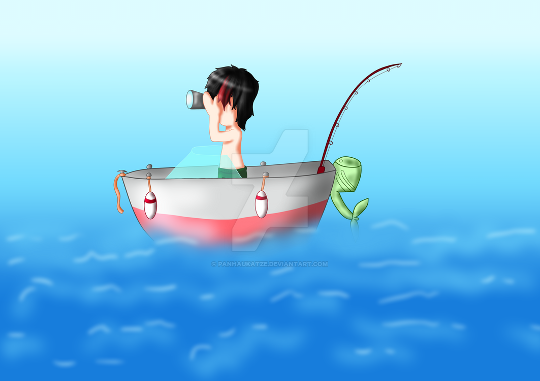 Boot auf meer by PanHaukatze