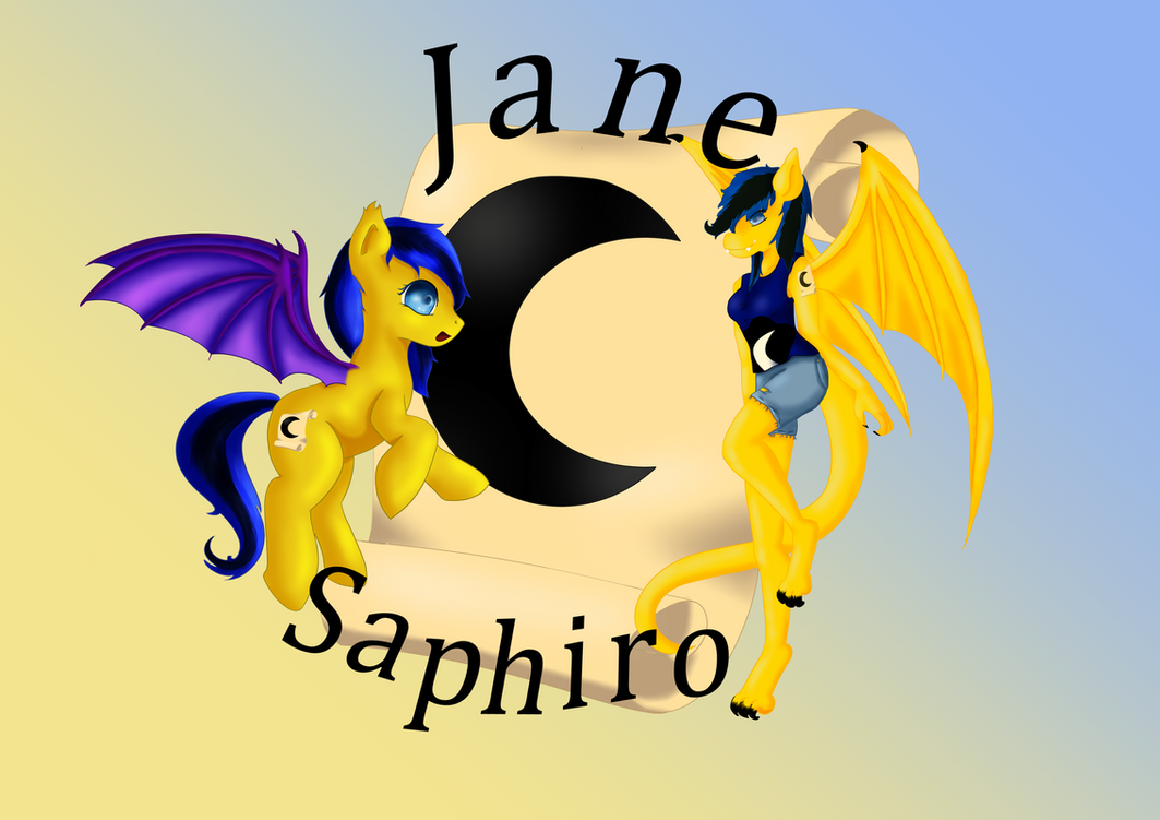Logo fur Jane by PanHaukatze