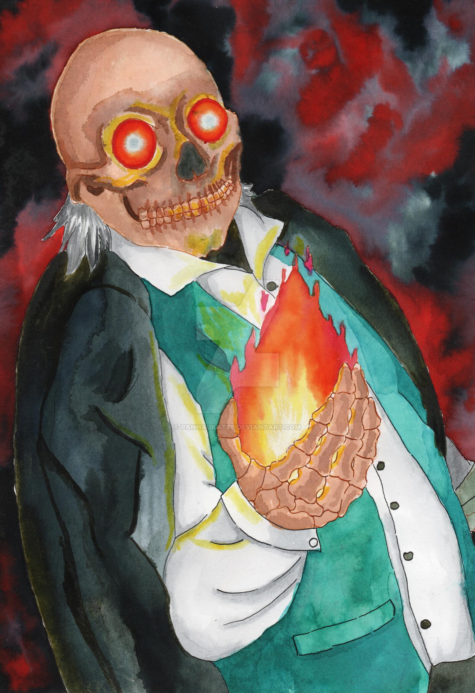 flammen demon by PanHaukatze
