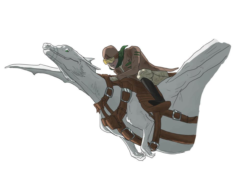 Flying by greendragon22