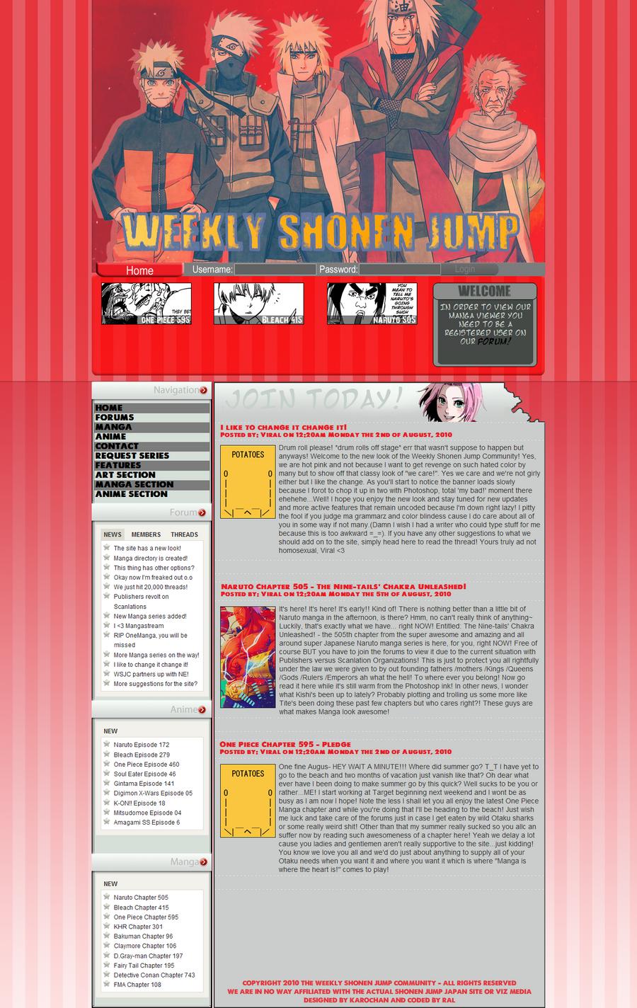 The Weekly SJ Community Design by XxRalxX